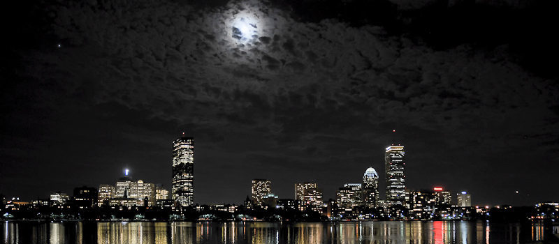 Time - Boston At Night